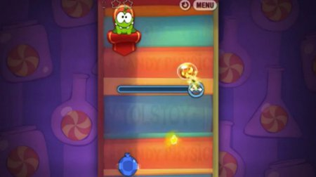 Cut the Rope: Experiments HD, Эксперименты на Ам Ням